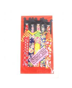 5 Segnalibri Kimono In...